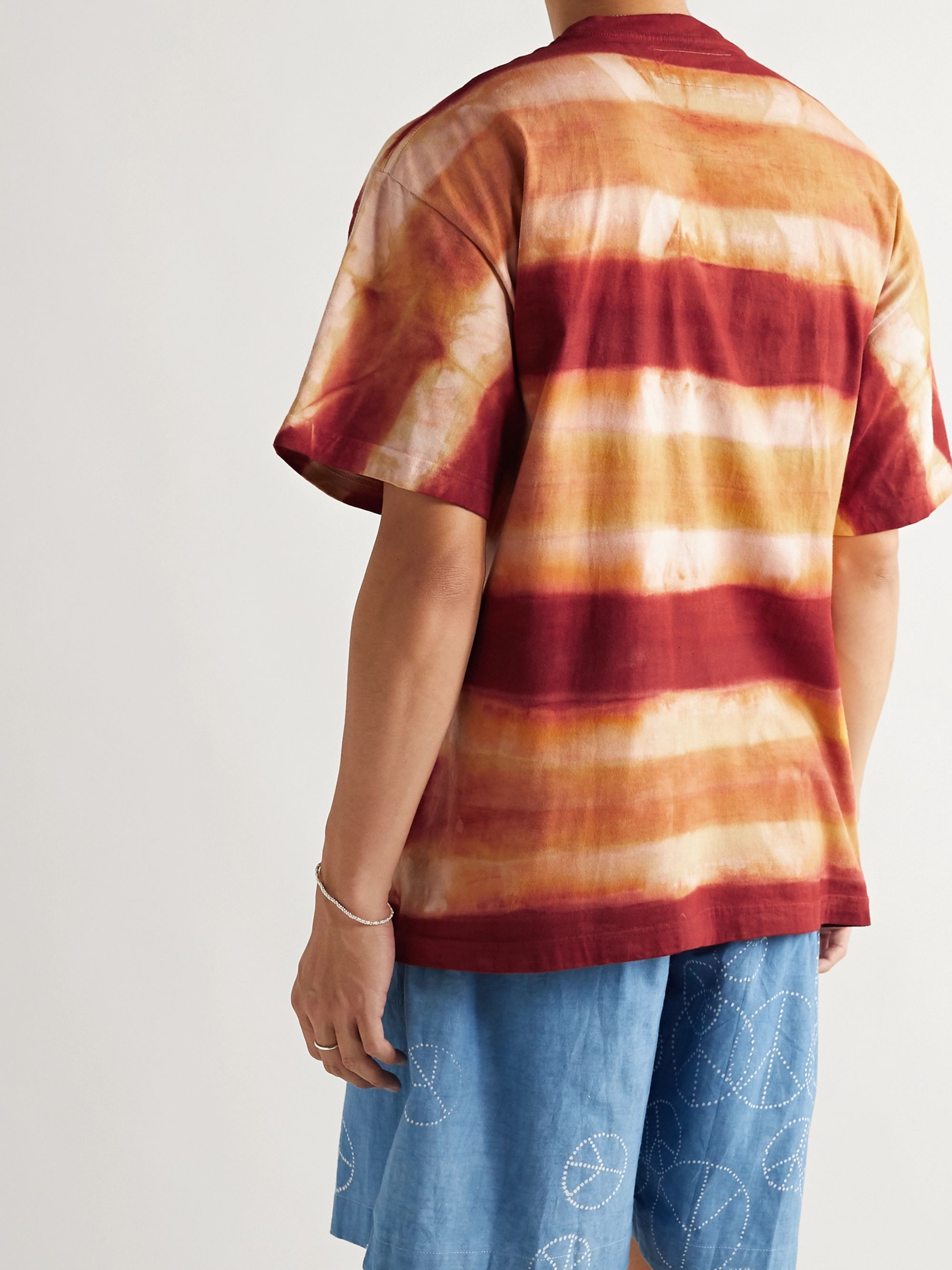Story Mfg. Grateful Tie-Dyed Organic Cotton-Jersey T-Shirt