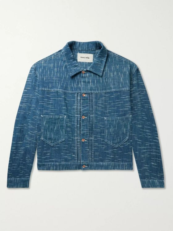 Story Mfg. Sundae Indigo-Dyed Organic Denim Jacket