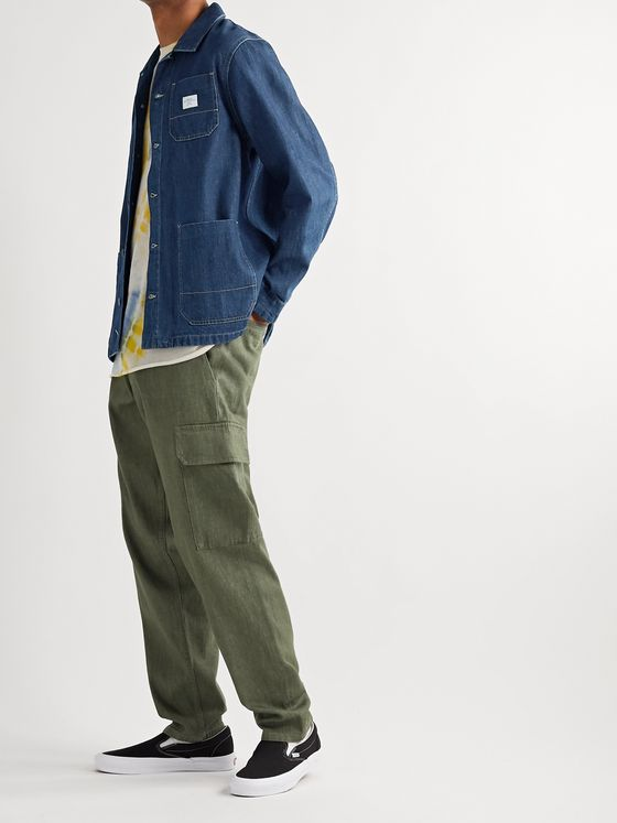 Saturdays NYC Lido Logo-Appliquéd Denim Chore Jacket