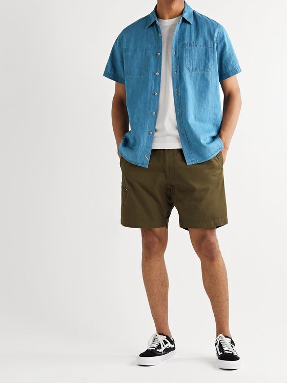 Saturdays NYC Centre Denim Shirt