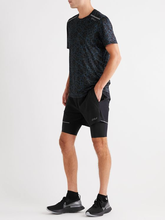 2XU XVENT 2-In-1 Jersey Shorts