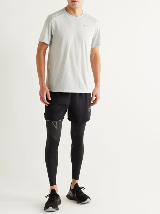2XU Wind Defence Compression Running Tights