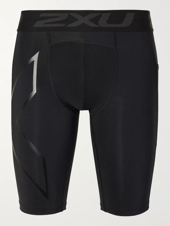 2XU Accelerate Stretch-Jersey Compression Shorts