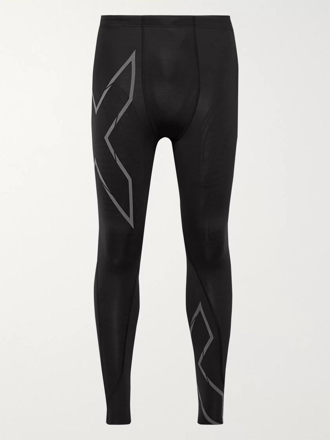 2xu - mcs run compression tights - men - black