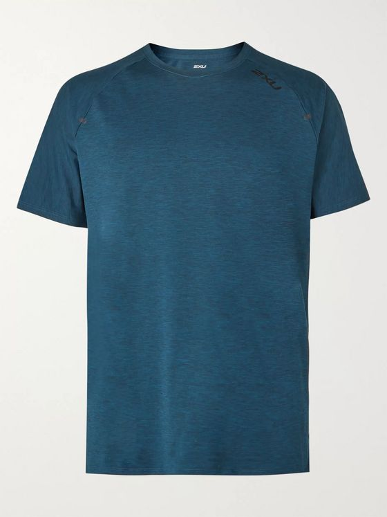 2XU X-CTRL Perforated Mélange Jersey T-Shirt