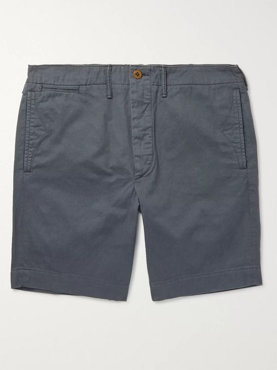 RRL Slim-Fit Cotton-Twill Chino Shorts