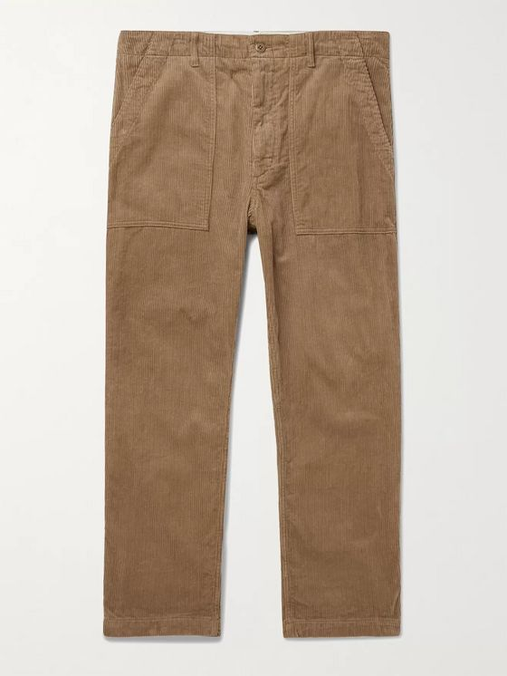 Engineered Garments Fatigue Cotton-Corduroy Trousers