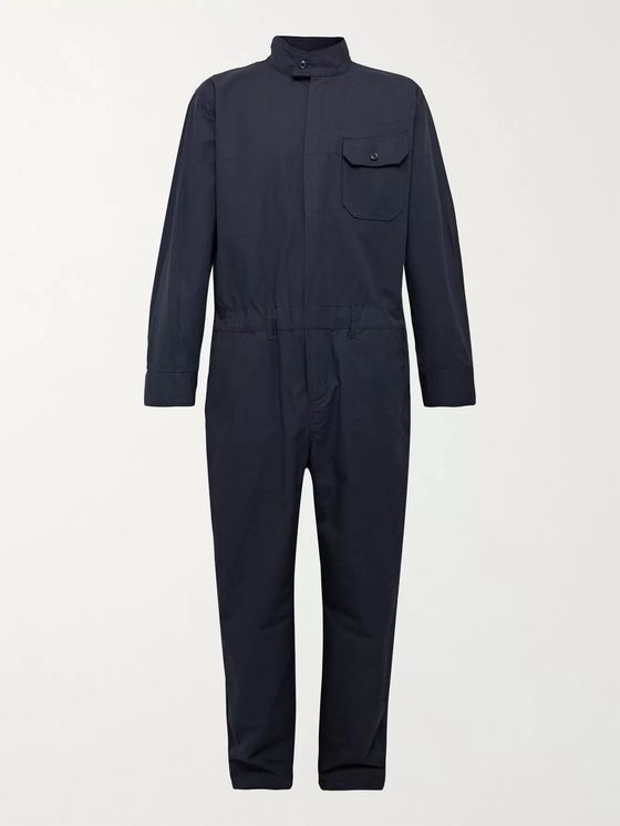 Engineered Garments Cotton-Ripstop Jumpsuit
