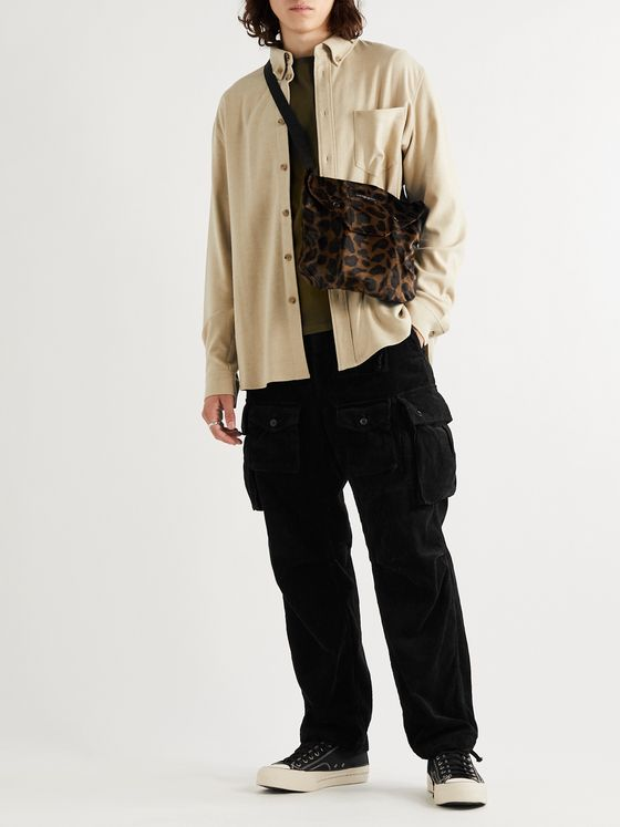 Engineered Garments Cotton-Corduroy Cargo Trousers