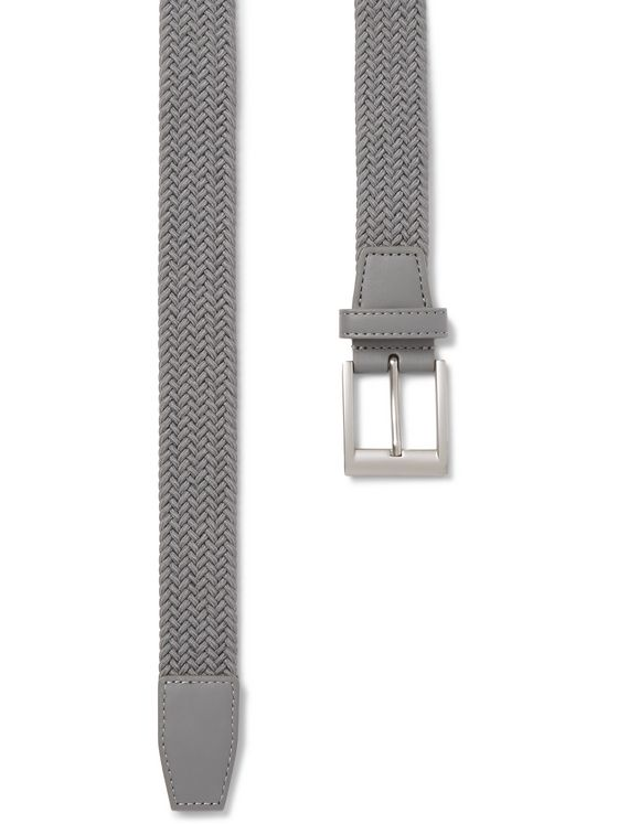 Adidas Golf 3.5cm Faux Leather-Trimmed Woven Elastic Belt