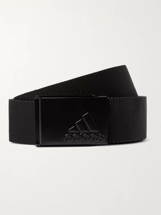 Adidas Golf 4cm Reversible Webbing Golf Belt