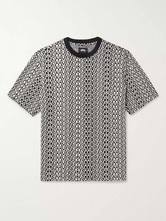 Stüssy Cotton-Jacquard T-Shirt