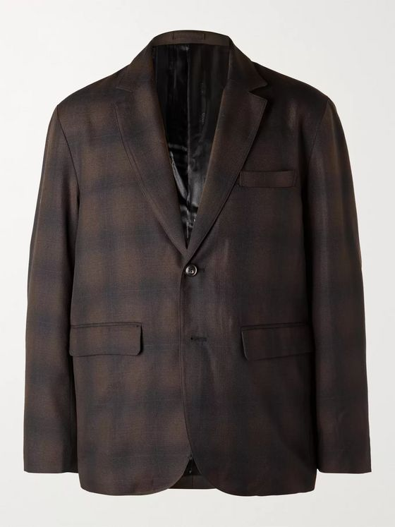 Stüssy Checked Woven Suit Jacket