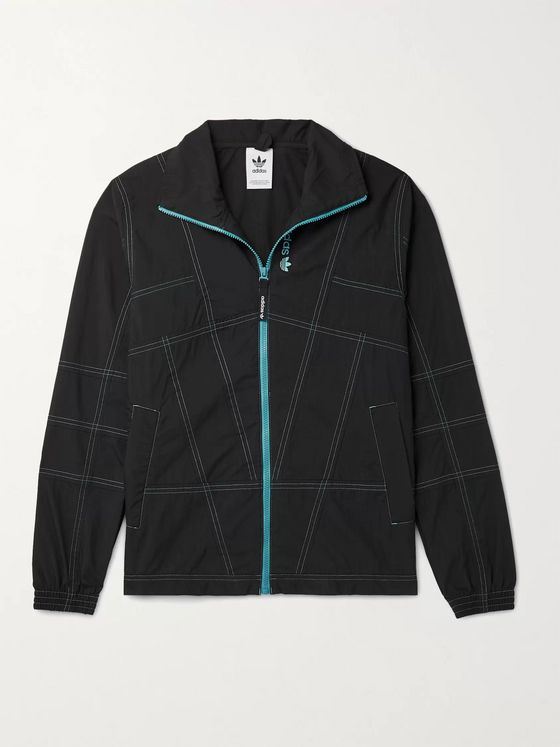 ADIDAS ORIGINALS Adventure Cotton-Blend Track Jacket
