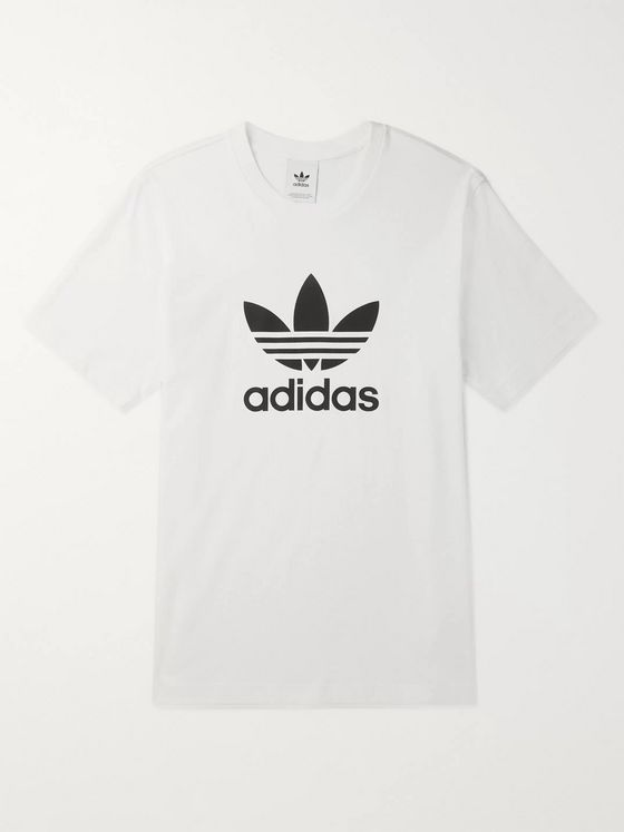 ADIDAS ORIGINALS Logo-Print Cotton-Jersey T-Shirt
