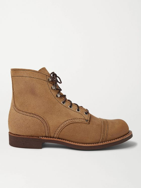 Red Wing Shoes Iron Ranger Roughout Suede Boots