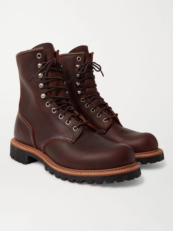 Red Wing Shoes 4585 Logger Leather Boots