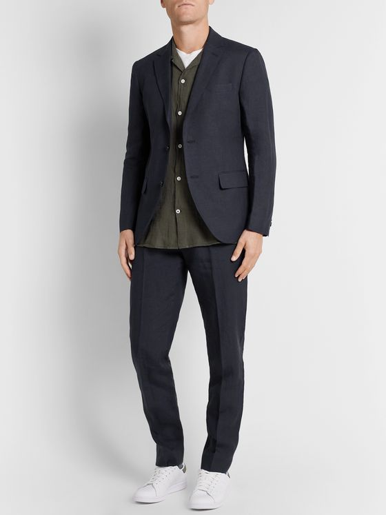 Club Monaco Grant Slim-Fit Linen Blazer