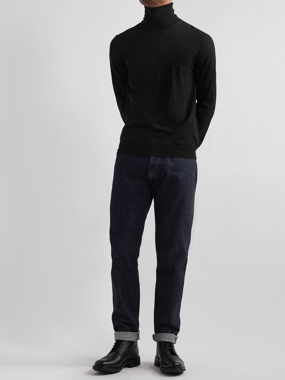 INCOTEX Flexwool Rollneck Sweater