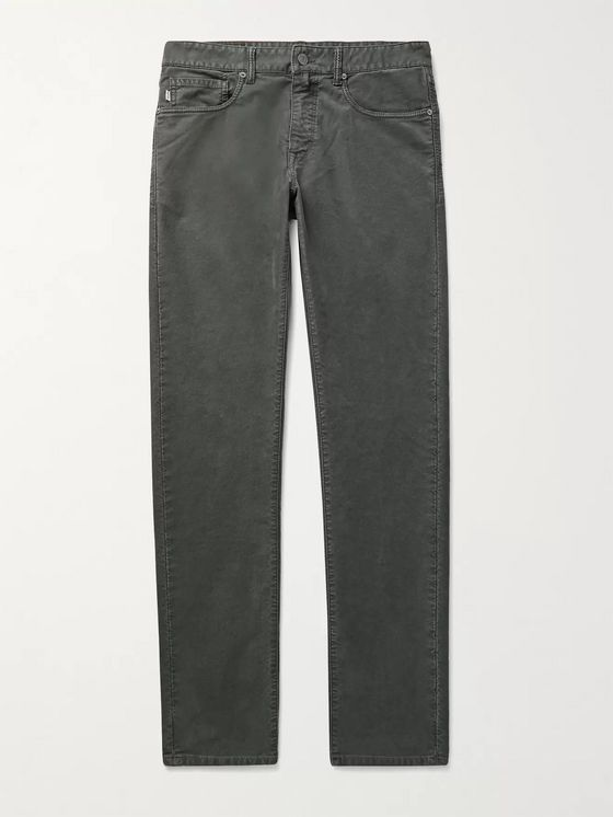 INCOTEX Stretch-Cotton Twill Chinos