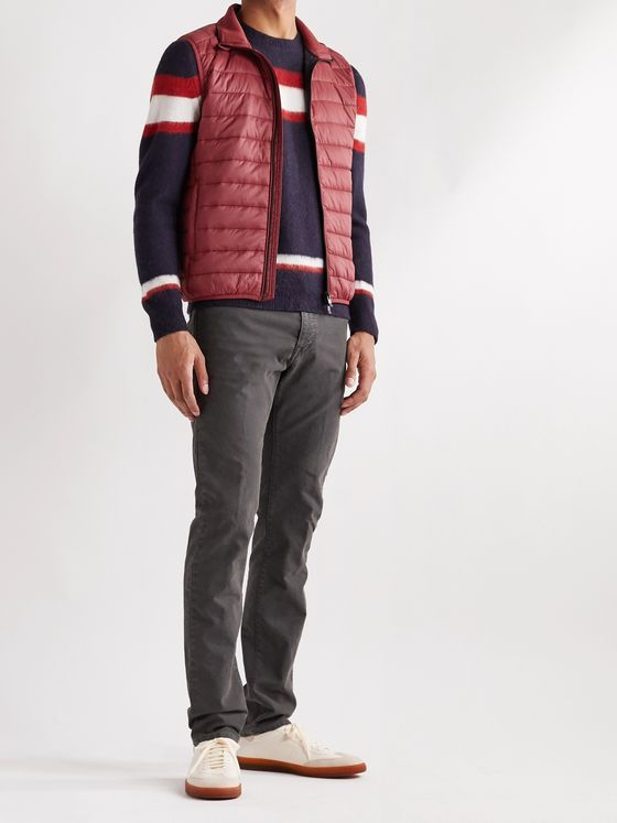 Incotex Urban Traveller Slim-Fit Quilted Nylon Gilet