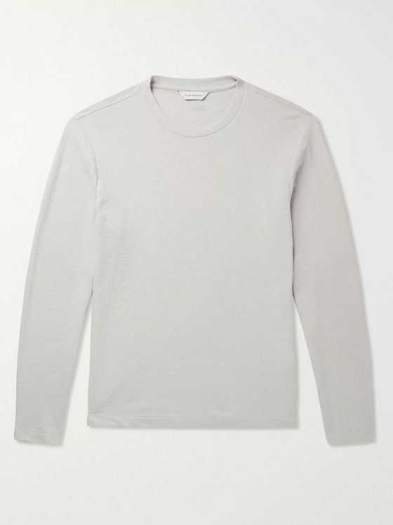 Club Monaco Cotton-Terry T-Shirt