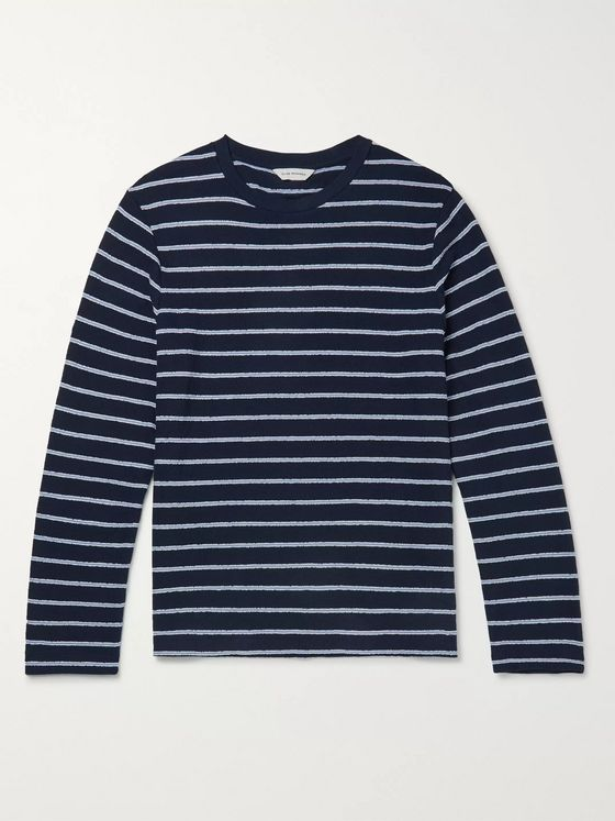 Club Monaco Slim-Fit Striped Cotton T-Shirt