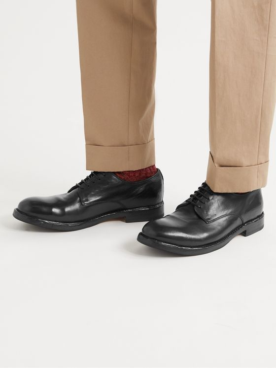 OFFICINE CREATIVE Character Leather Derby Shoes