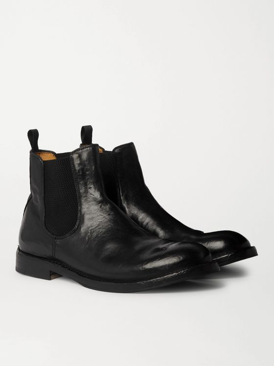 OFFICINE CREATIVE Character 2 Leather Chelsea Boots