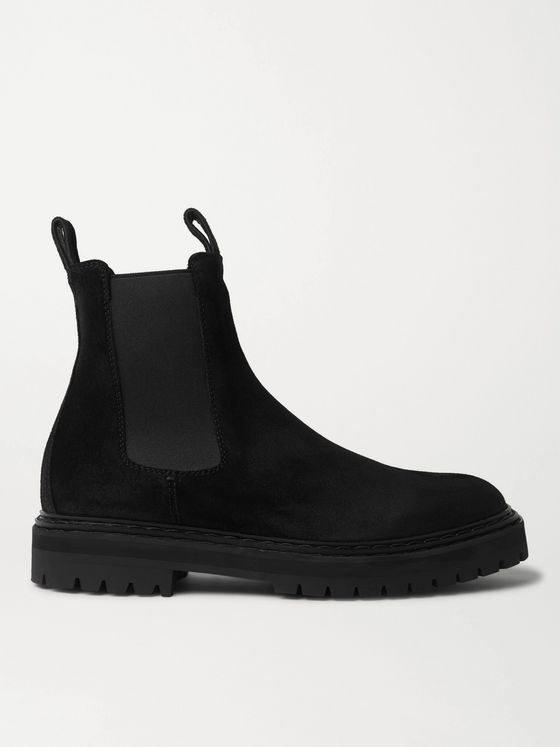 OFFICINE CREATIVE Pistols Suede Chelsea Boots