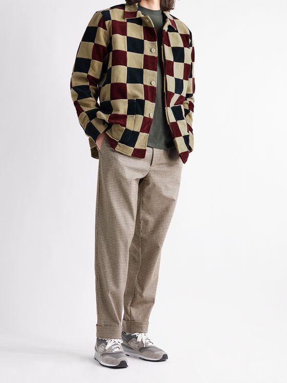 Aimé Leon Dore Checked Cotton-Corduroy Jacket