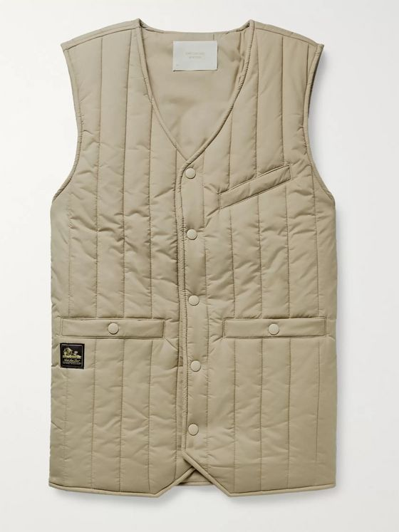 Aimé Leon Dore Quilted Nylon-Ripstop Gilet