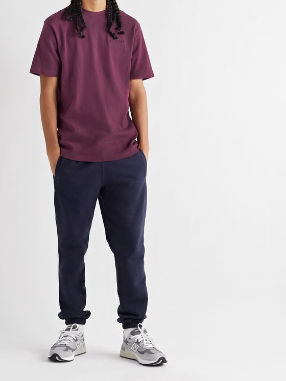 Aimé Leon Dore Uniform Logo-Embroidered Cotton-Jersey T-Shirt