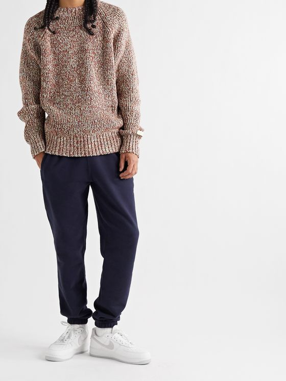 Aimé Leon Dore Mélange Wool-Blend Sweater