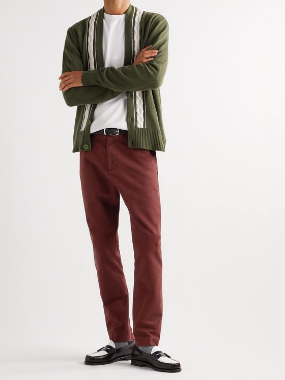 Aimé Leon Dore Core Slim-Fit Cotton-Twill Chinos