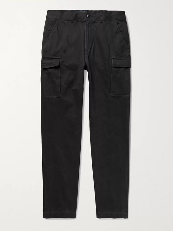 Aimé Leon Dore Slim-Fit Cotton-Twill Cargo Trousers