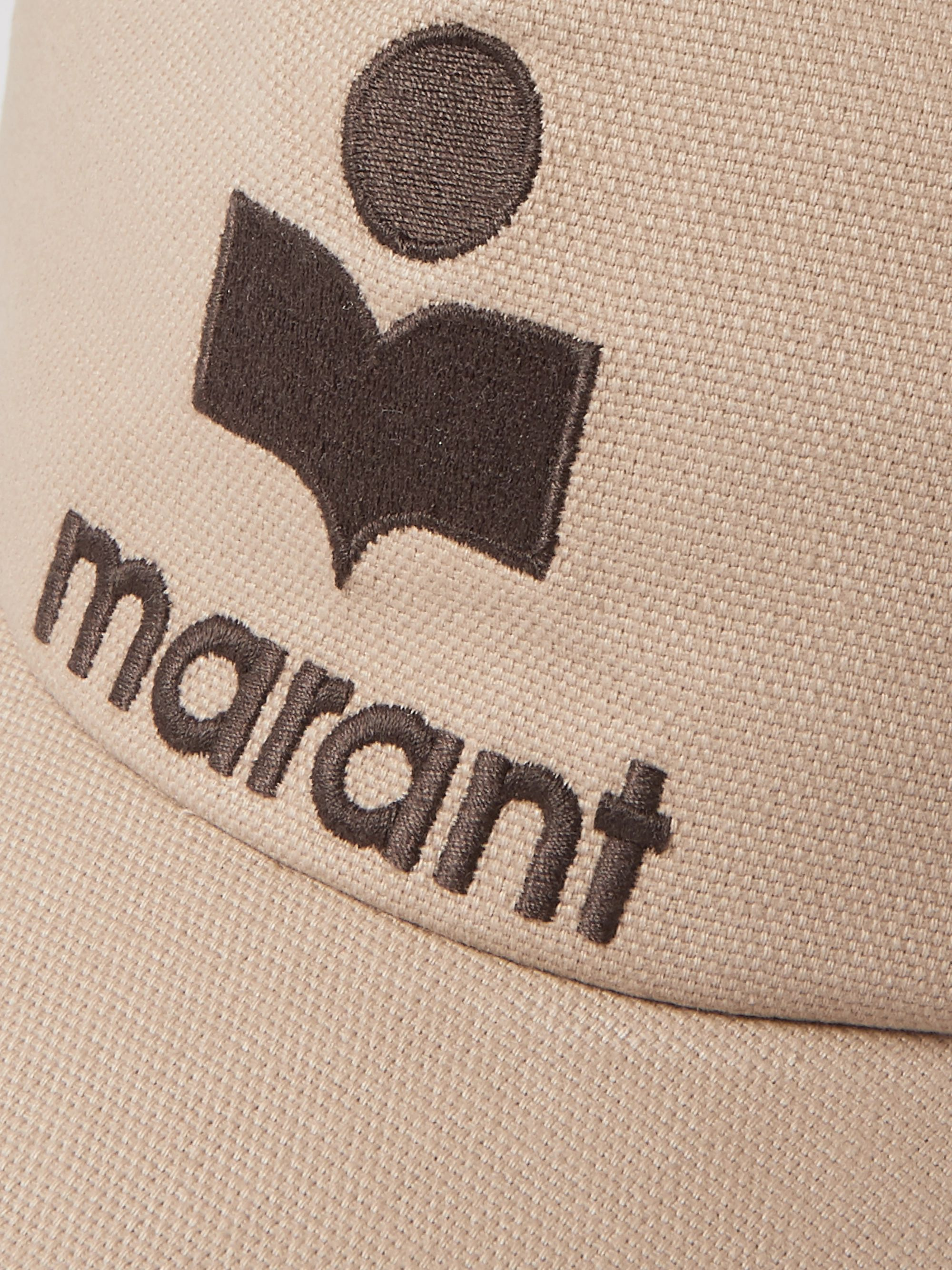 Isabel Marant Logo-Embroidered Cotton-Canvas Baseball Cap