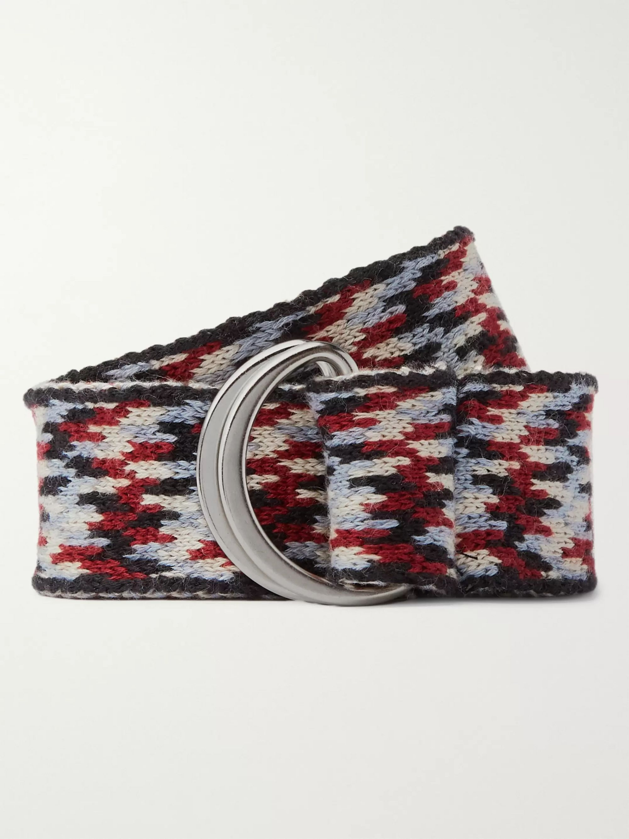 Isabel Marant Knitted Cotton Belt