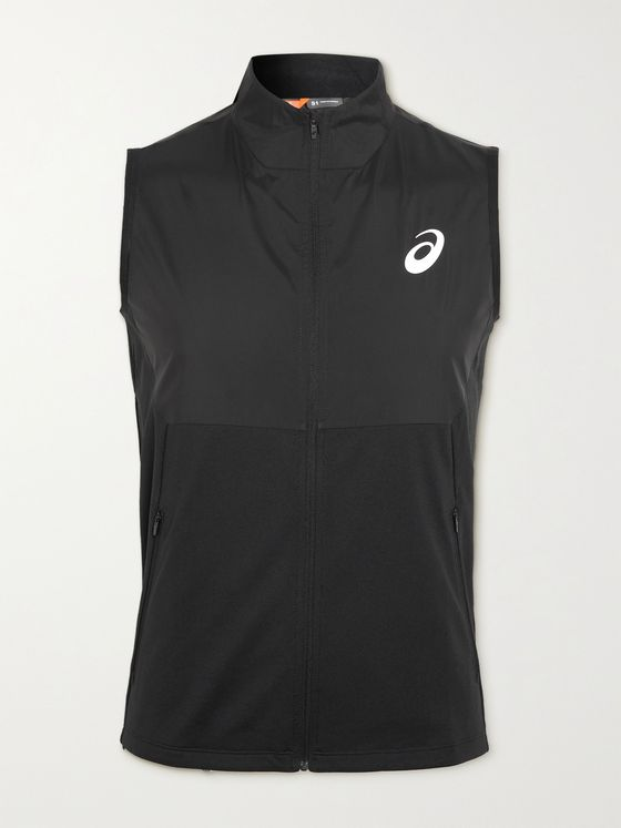ASICS Future Tokyo Printed Shell and Jersey Vest