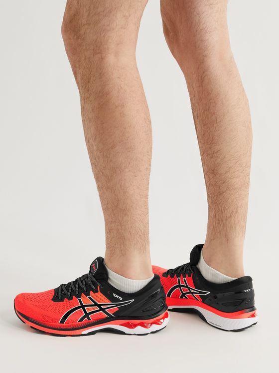 ASICS GEL-KAYANO 27 Tokyo Mesh and Rubber Running Sneakers