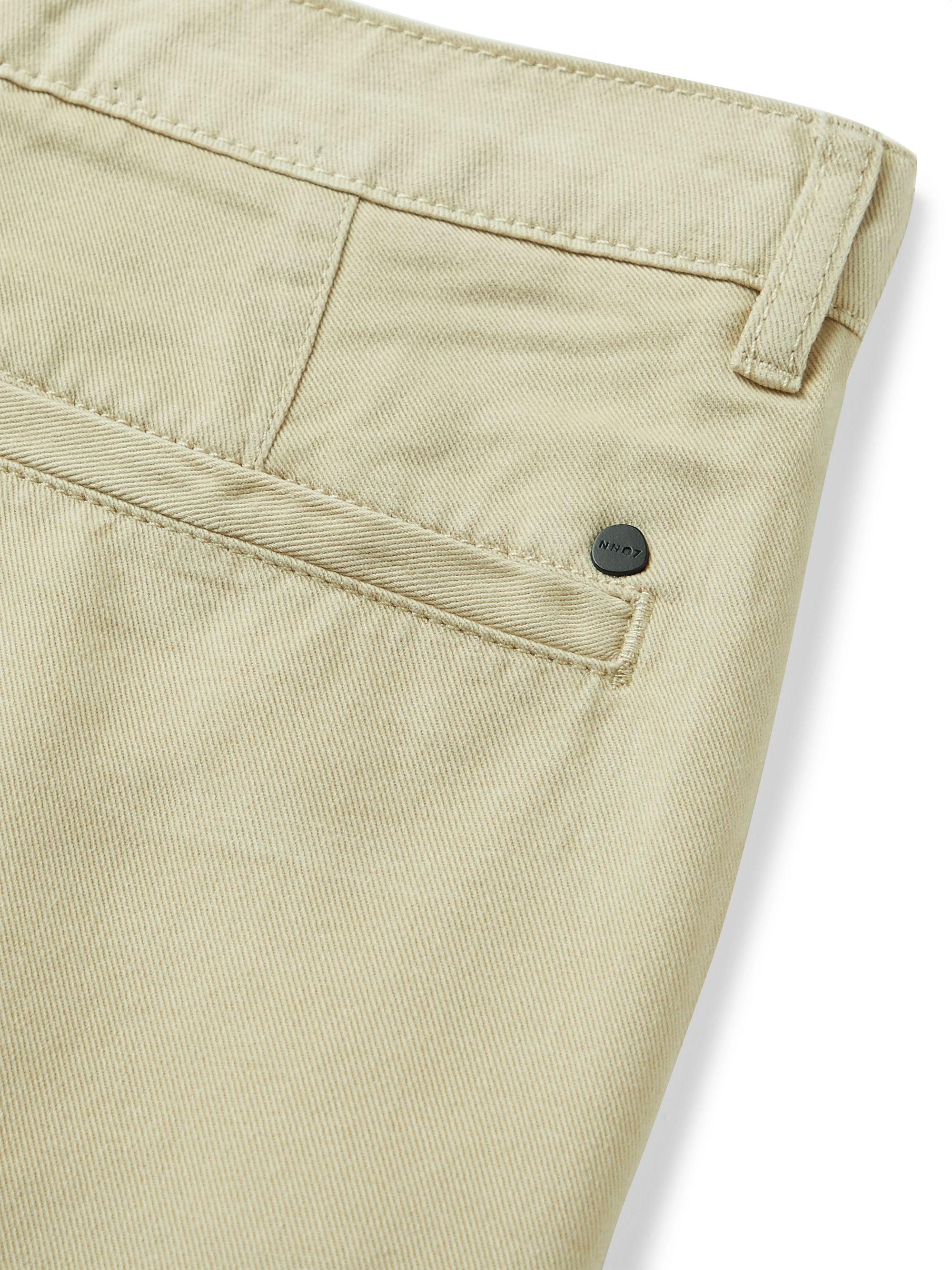 Beige Crown Lyocell Shorts | Nn07