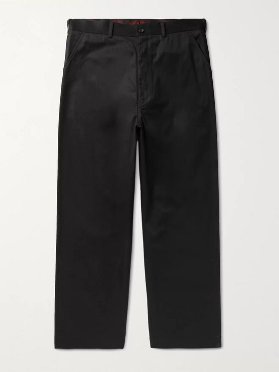 Comme des Garçons HOMME Cotton-Twill Chinos