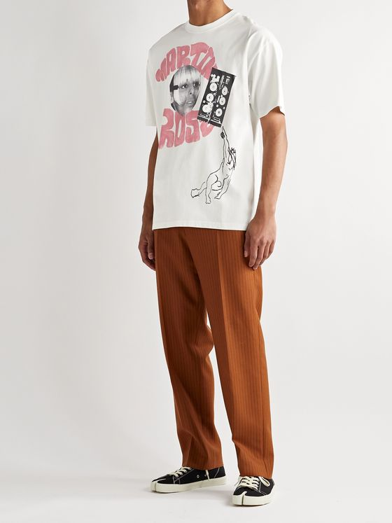 Martine Rose Oversized Logo-Print Cotton-Jersey T-Shirt