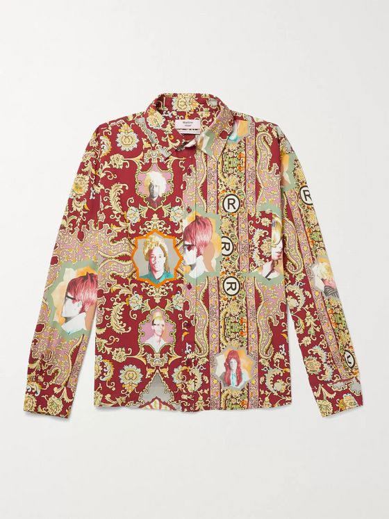 Martine Rose Printed Woven Shirt