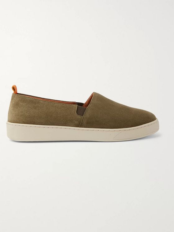 Mulo Suede Slip-On Sneakers