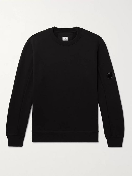 C.P. Company Loopback Cotton-Jersey Sweatshirt