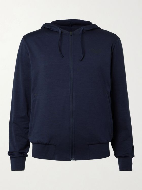 CASTORE Geneva Stretch-Jersey Zip-Up Hoodie