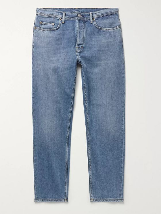 ACNE STUDIOS River Slim-Fit Tapered Stretch-Denim Jeans