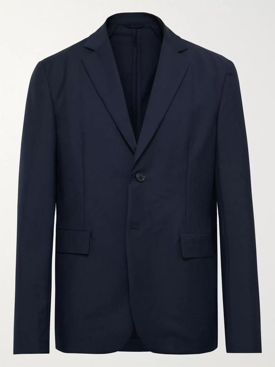 Acne Studios Antibes Slim-Fit Unstructured Wool and Mohair-Blend Blazer