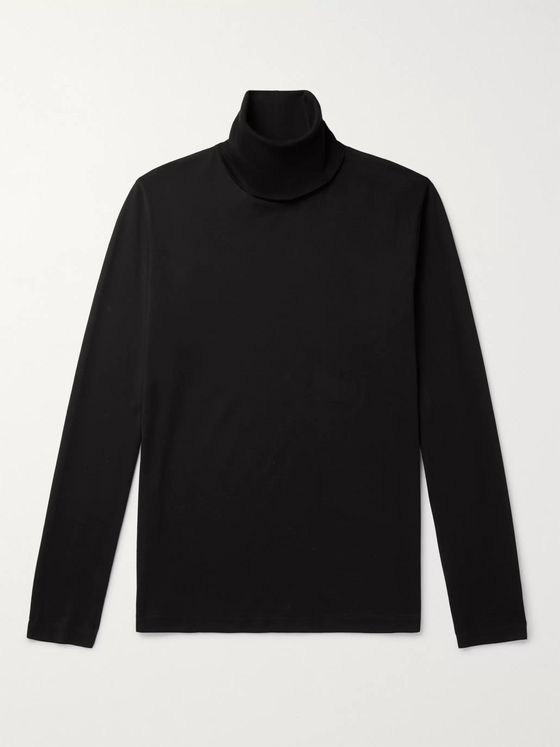 ACNE STUDIOS Cotton-Jersey Rollneck T-Shirt